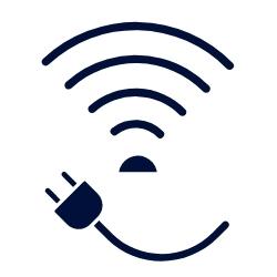 Solución wireless o con cable